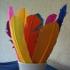 Окраска перьев